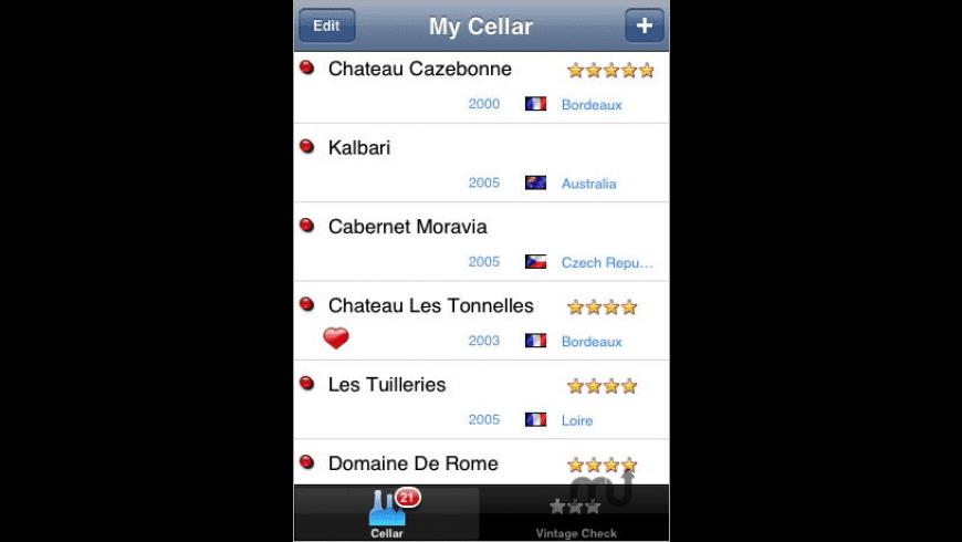 Merlot Cellar Assistant for Mac - review, screenshots