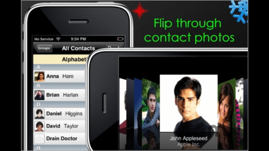 Fast Contacts for Mac - review, screenshots