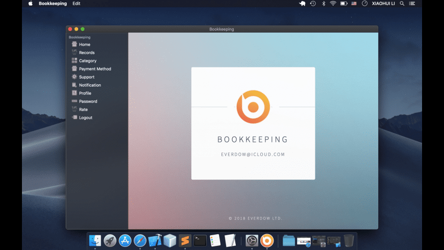 Bookkeeping for Mac - review, screenshots