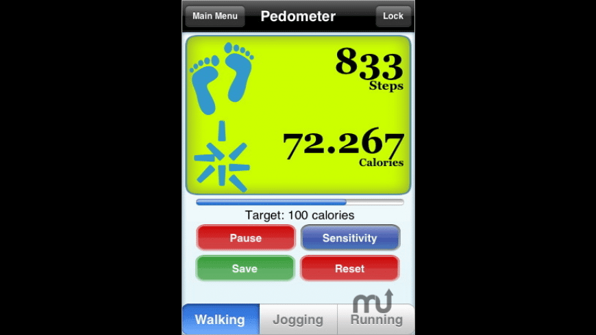 Pedometer for Mac - review, screenshots