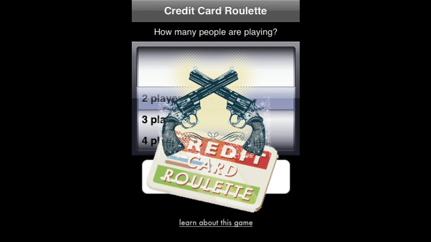 Credit Card Roulette for Mac - review, screenshots