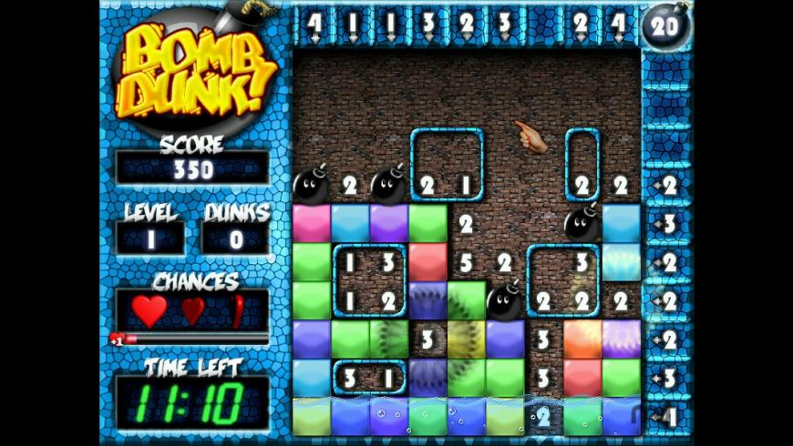 BombDunk for Mac - review, screenshots