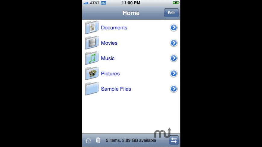 MobileFinder for Mac - review, screenshots