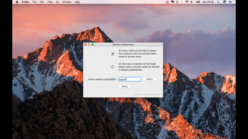 @home for Mac - review, screenshots