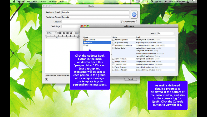 Quaik for Mac - review, screenshots