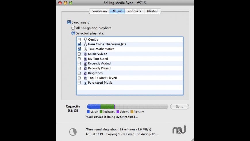 Salling Media Sync for Mac - review, screenshots