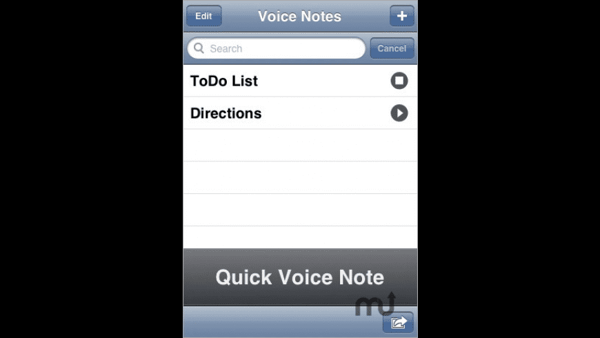 VoiceNotes for Mac - review, screenshots