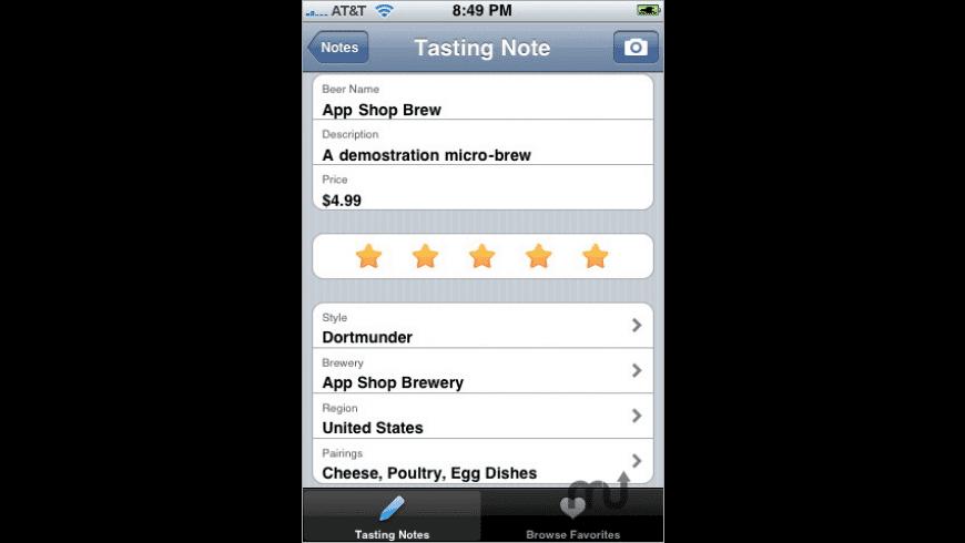 Beer Pad for Mac - review, screenshots