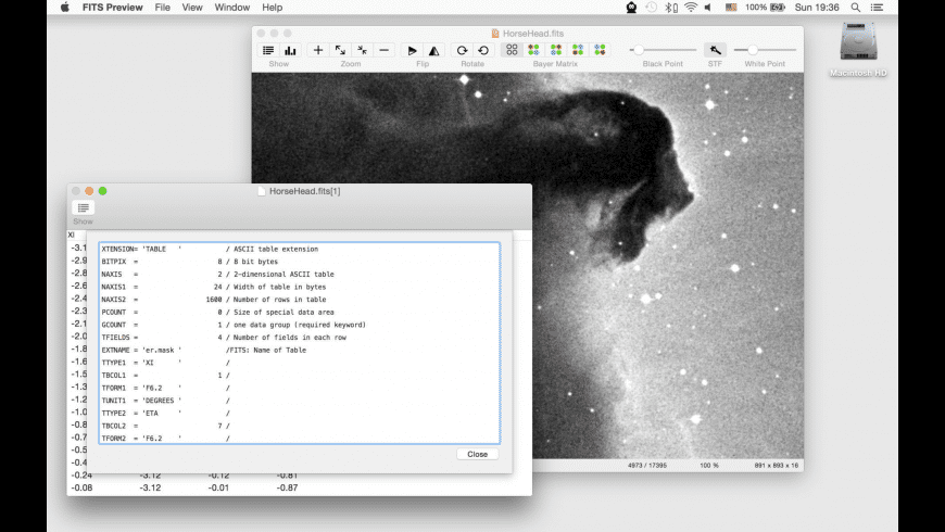 FITS Preview for Mac - review, screenshots