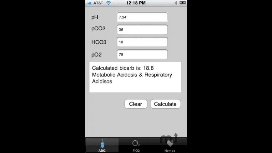 ABG for Mac - review, screenshots