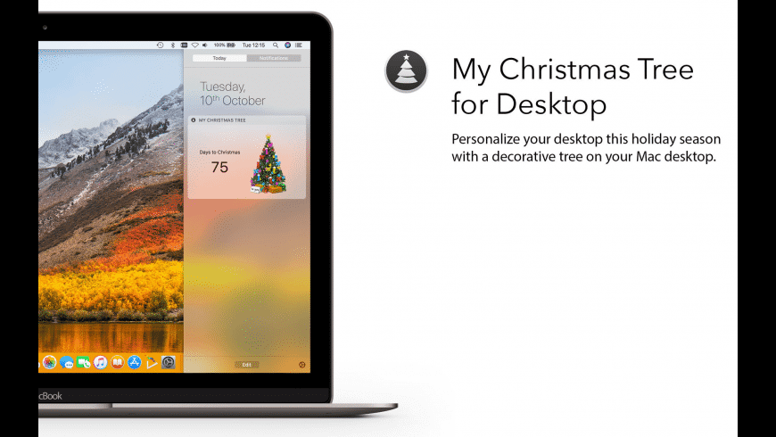 My Christmas Tree for Mac - review, screenshots