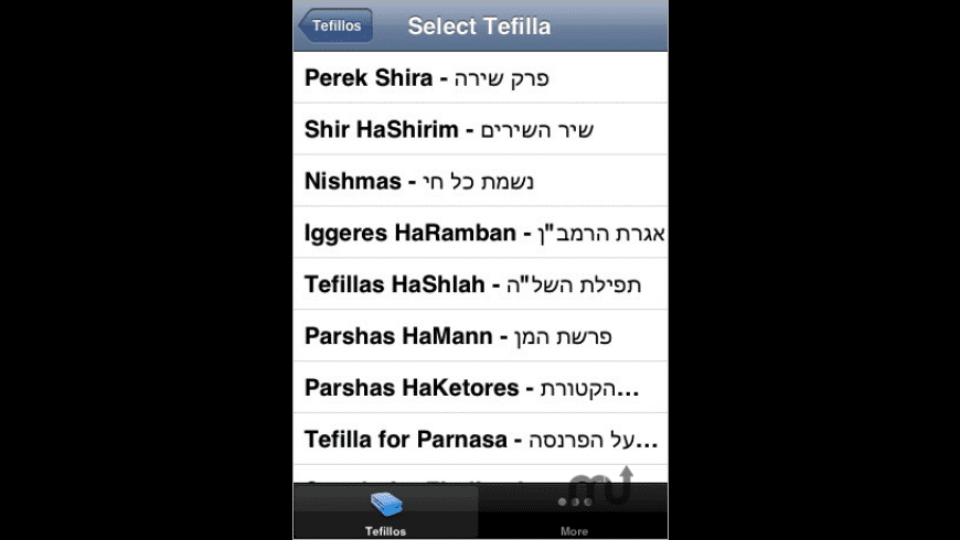Tefilla Pack for Mac - review, screenshots