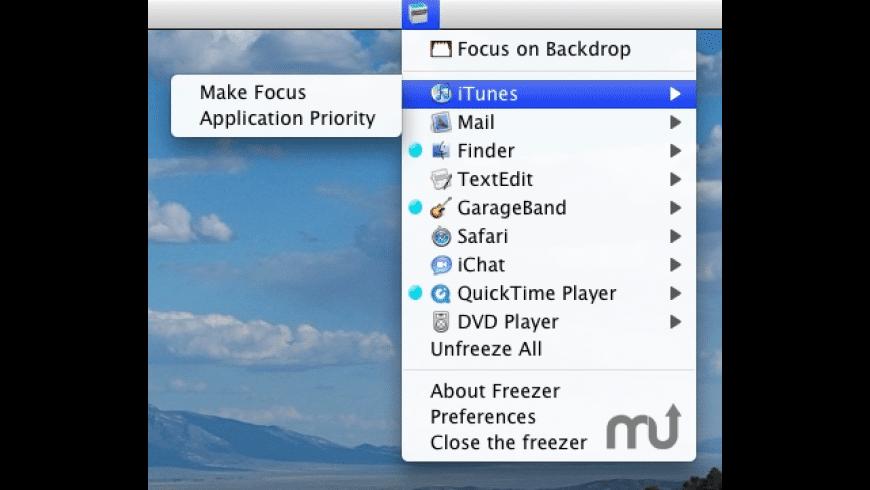 Freezer for Mac - review, screenshots