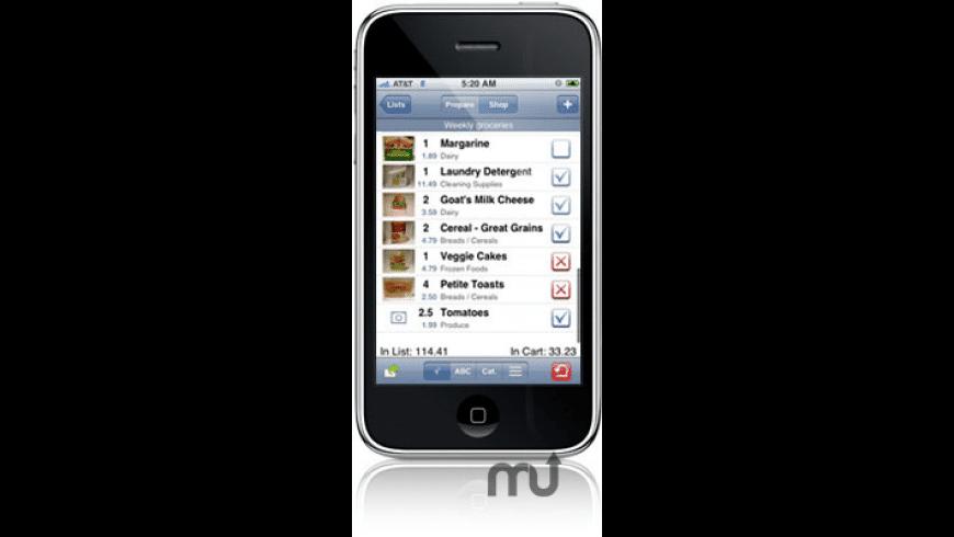 Grocery Gadget for Mac - review, screenshots