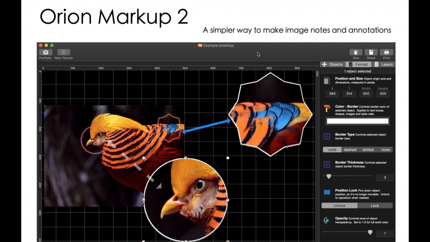 Orion Markup 2 for Mac - review, screenshots