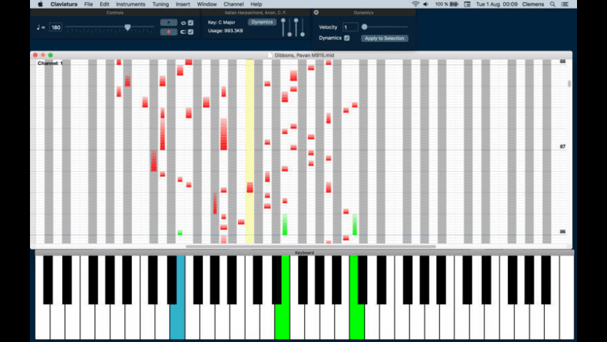Claviatura for Mac - review, screenshots