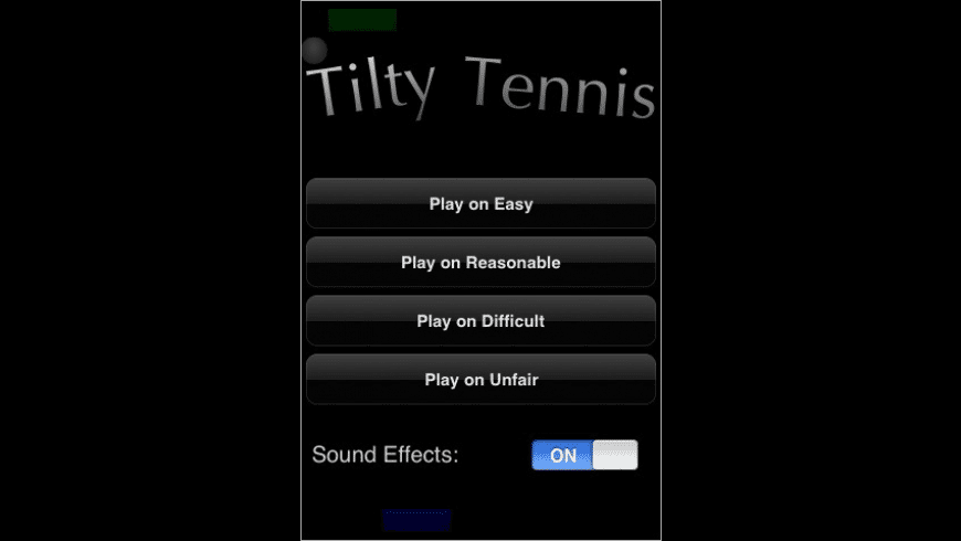 Tilty Tennis for Mac - review, screenshots