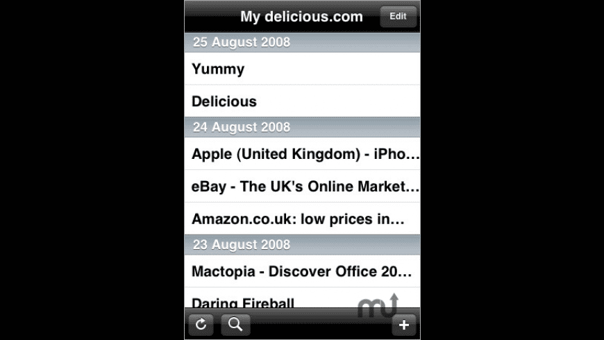 Yummy for Mac - review, screenshots