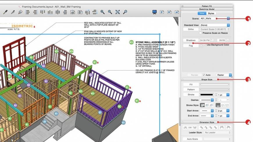 SketchUp Pro for Mac - review, screenshots