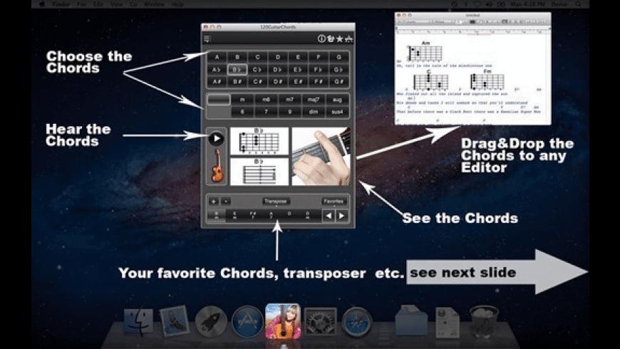 120GuitarChords for Mac - review, screenshots