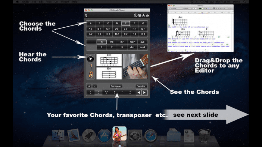 120UkuleleChords for Mac - review, screenshots