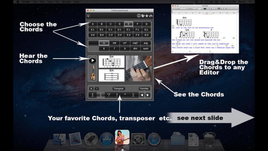 120UkuleleChords for Mac - review, screenshots