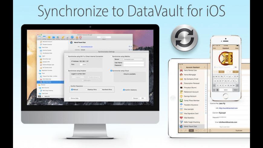 DataVault Password Manager for Mac - review, screenshots