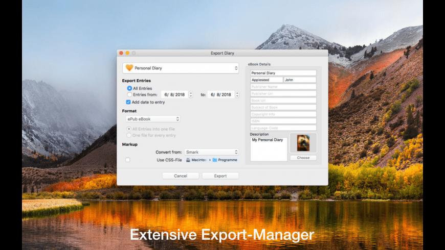 Myary for Mac - review, screenshots