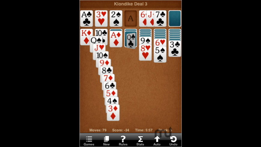 Sol Free Solitaire for Mac - review, screenshots