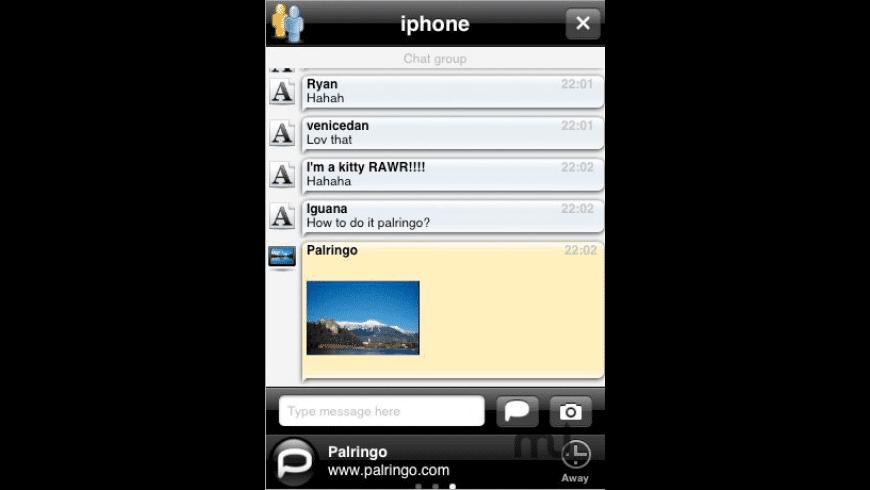 Palringo Instant Messenger for Mac - review, screenshots