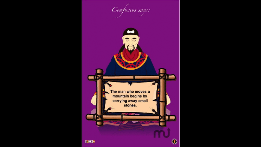 Confucius for Mac - review, screenshots