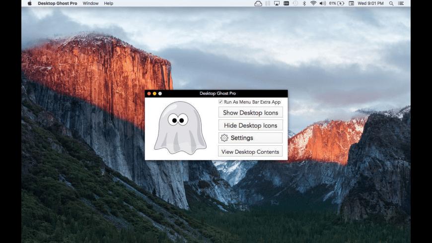 Desktop Ghost Pro for Mac - review, screenshots