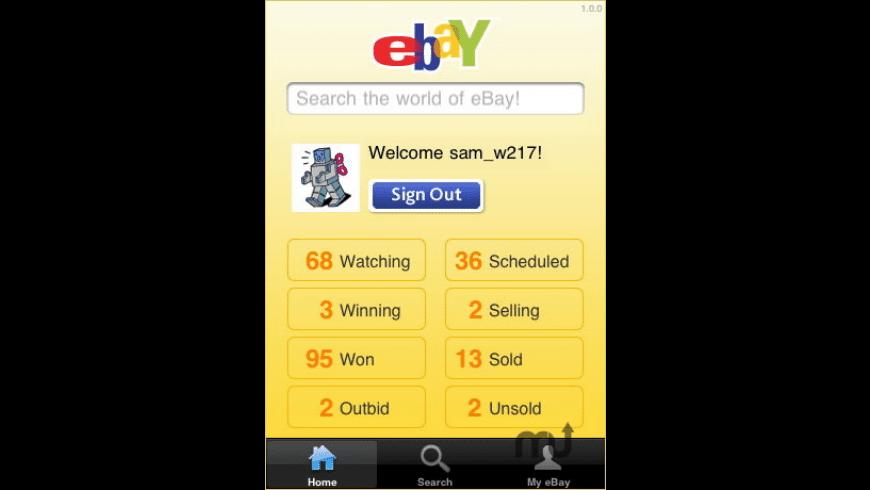 eBay Mobile for Mac - review, screenshots