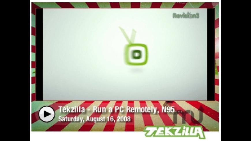 Tekzilla Video Widget for Mac - review, screenshots