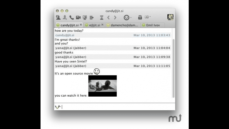 Jitsi for Mac - review, screenshots