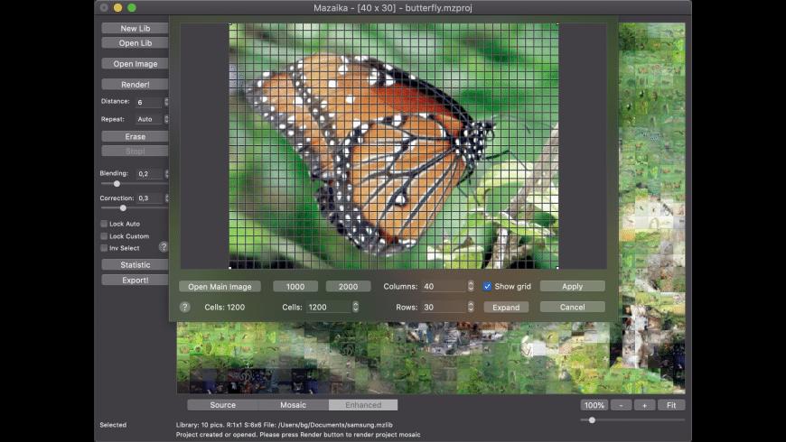 Mazaika for Mac - review, screenshots
