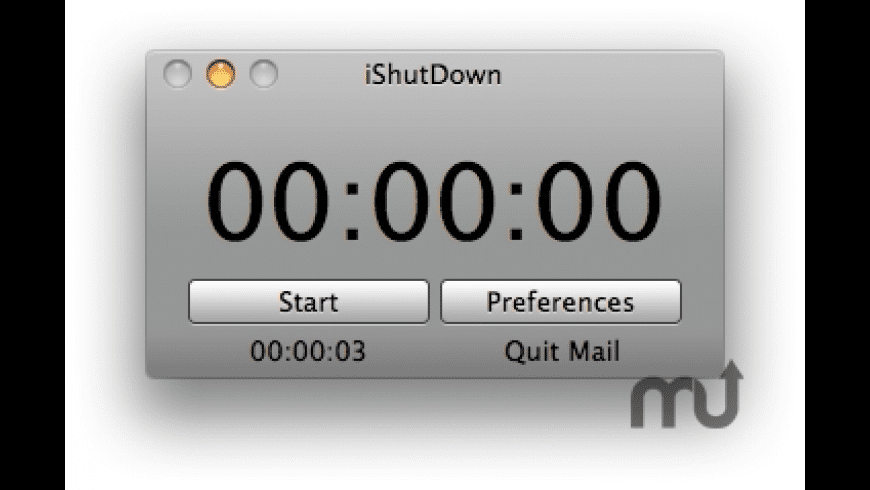 iShutDown for Mac - review, screenshots