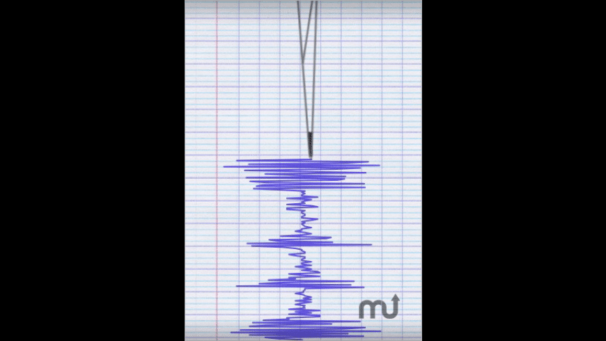 Seismometer for Mac - review, screenshots