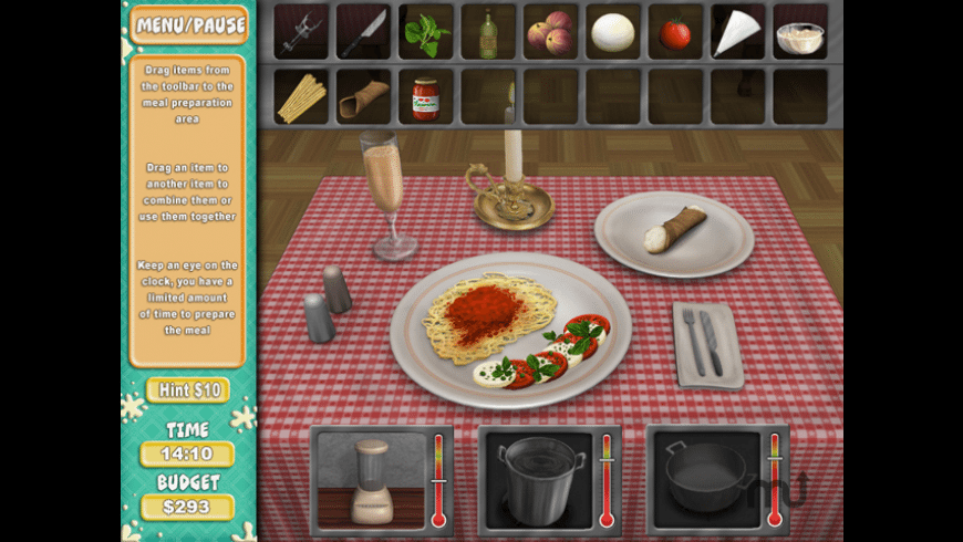 Cooking Quest for Mac - review, screenshots