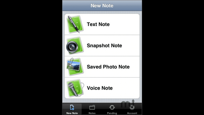 Evernote for iPhone for Mac - review, screenshots