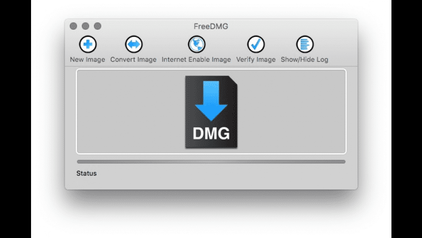 FreeDMG for Mac - review, screenshots