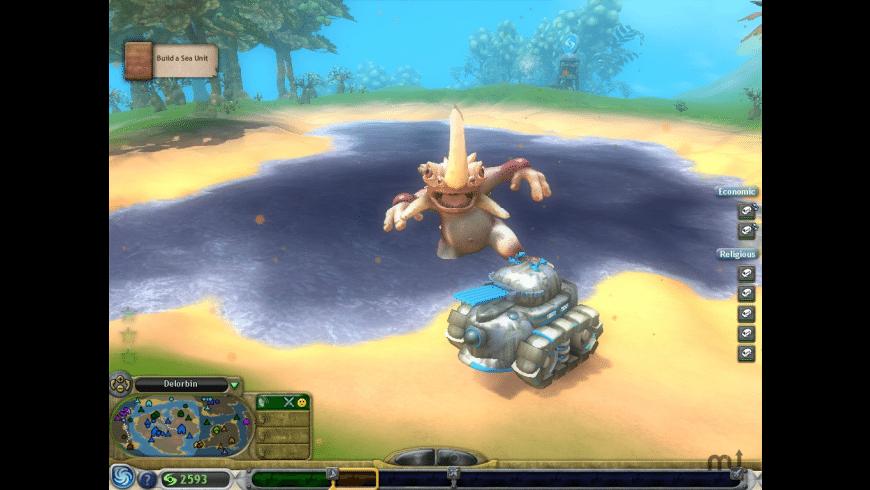 Spore for Mac - review, screenshots