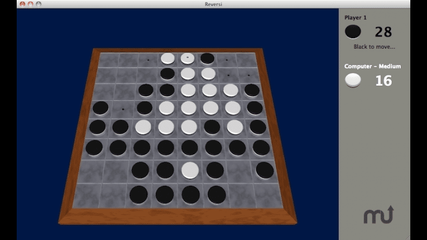 Muryan Reversi for Mac - review, screenshots