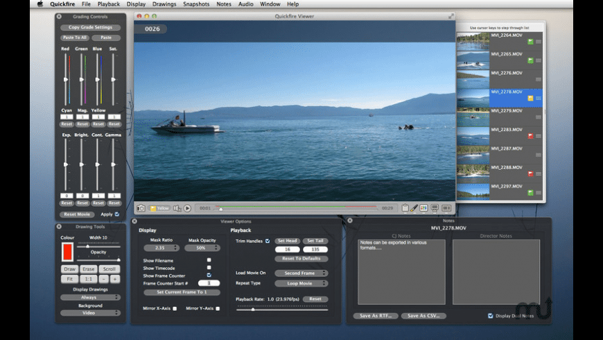 Quickfire for Mac - review, screenshots