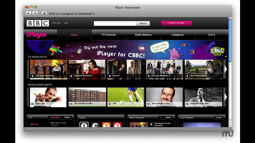 iPlayer Downloader for Mac - review, screenshots