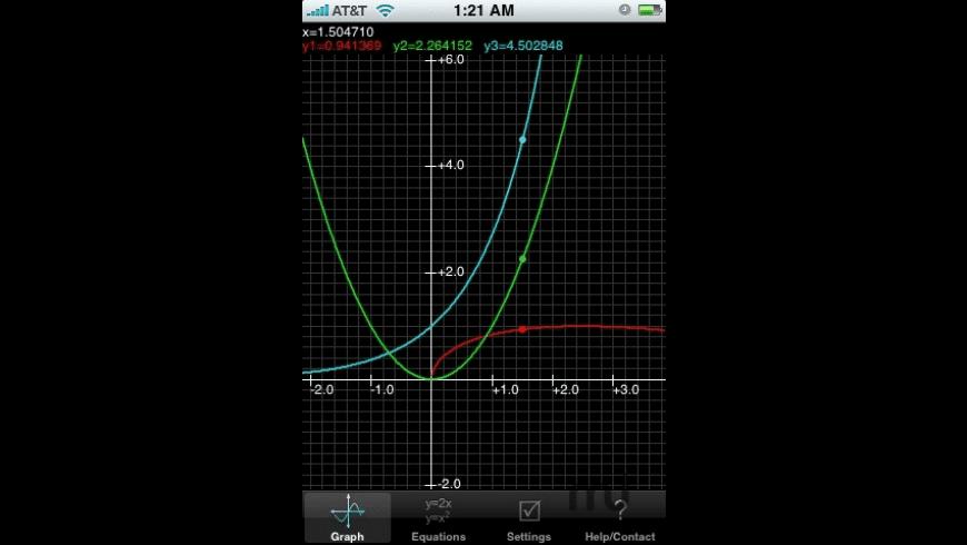 Graphing Calculator for Mac - review, screenshots