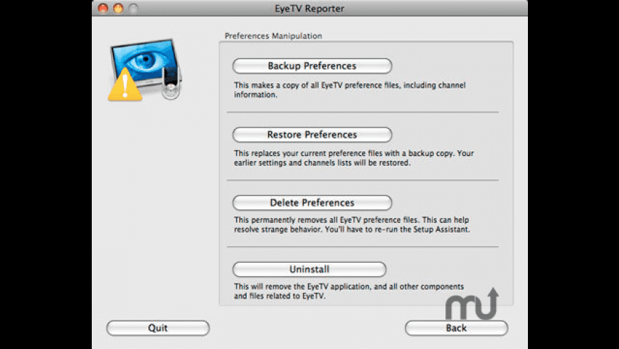 EyeTV Reporter for Mac - review, screenshots