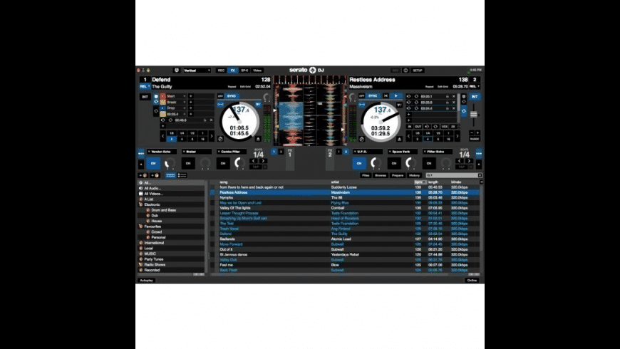 Serato DJ for Mac - review, screenshots
