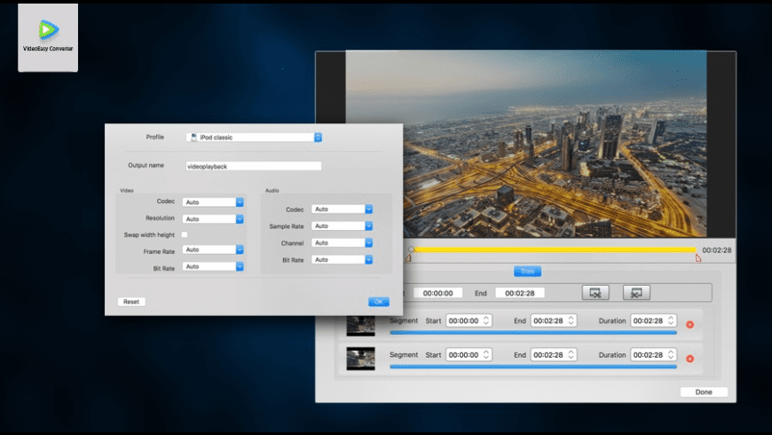 VideoEasy Video Converter Pro for Mac - review, screenshots