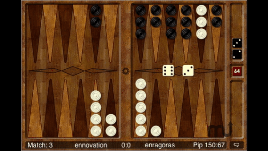 Backgammon Online for Mac - review, screenshots